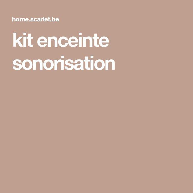 kit enceinte sonorisation