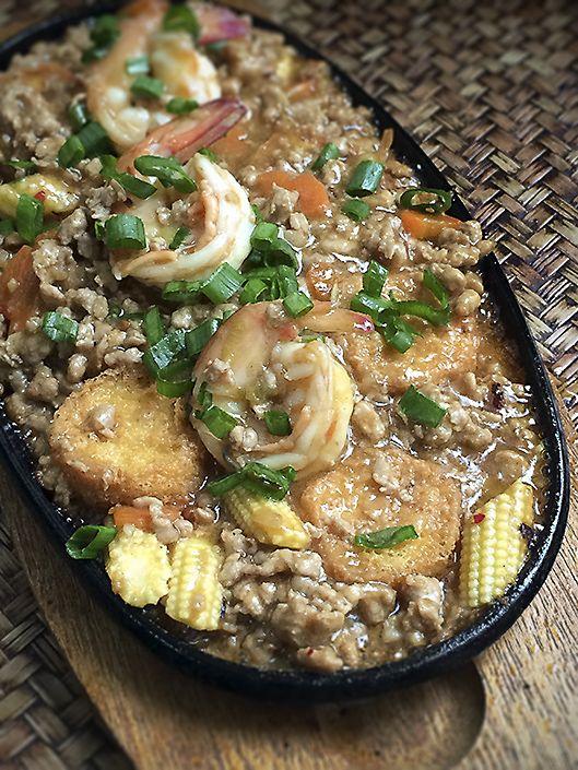 Singaporean/Chinese: Hot Plate Tofu