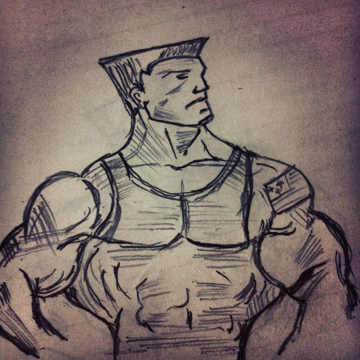 Street fighter- Guile.