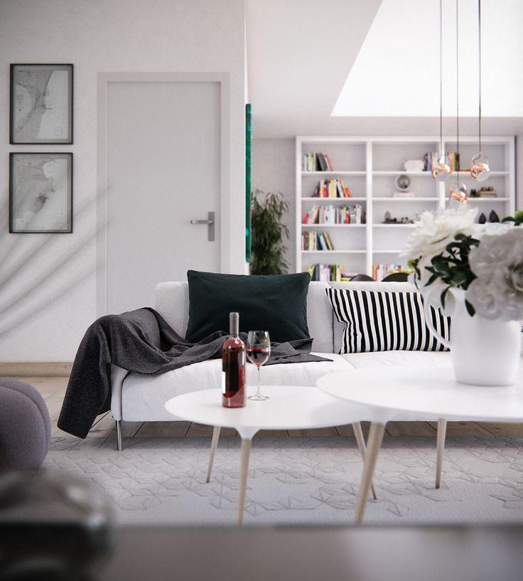 25+ melhores ideias de Skandinavischer stil somente no Pinterest - wohnzimmer skandinavischer stil