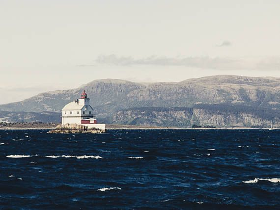 Lighthouse Print Nordic Print Norway Photography