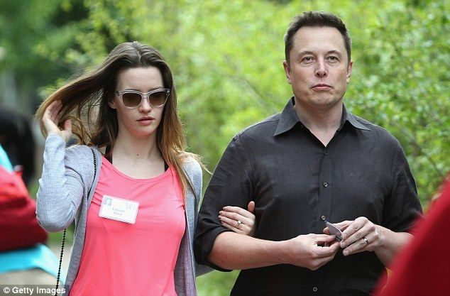 Back on: Elon Musk has reportedly withdrawn divorce papers against his wife Talulah Riley (pair above in July)