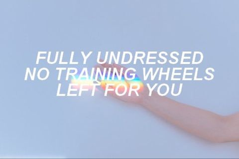 Training Wheels // Melanie Martinez