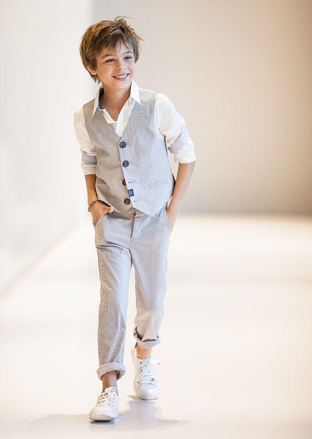 Vêtements garçon IKKS: look enfant été 2015