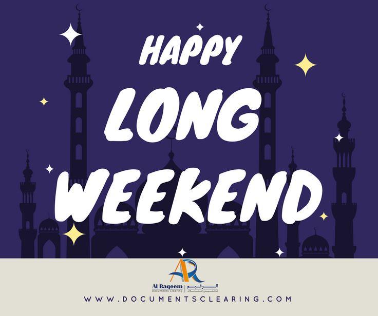 Enjoy your long weekend! #RAMADAN KAREEM! From Al Raqeem Document Clearing Services In Dubai