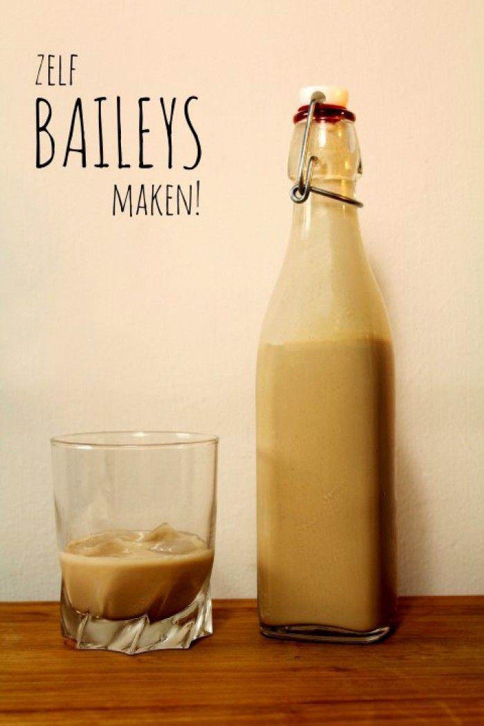 Zelf Baileys maken!