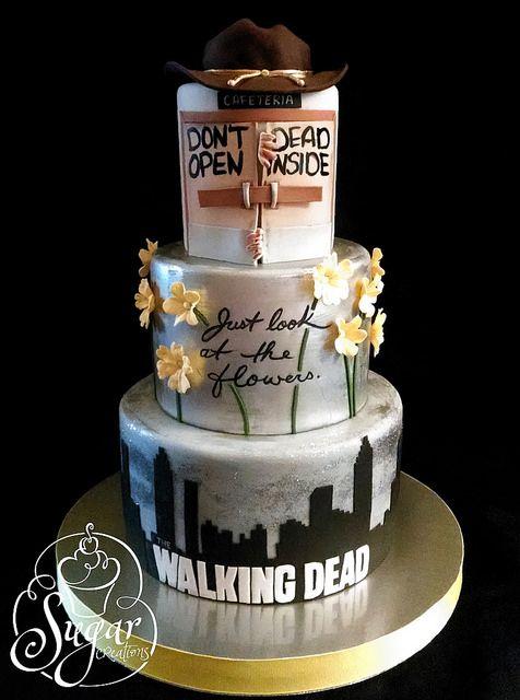 Walking Dead cake by RebeccaSutterby, via Flickr