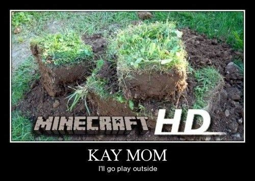 Minecraft Just Got Real. And I am enjoying it!