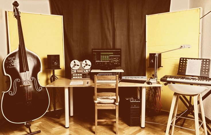 Beards & Bass Studios - Dein Tonstudio in Aachen