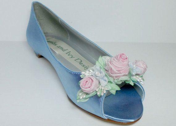 The 25 best Blue bridal shoes ideas on Pinterest Gold bridal
