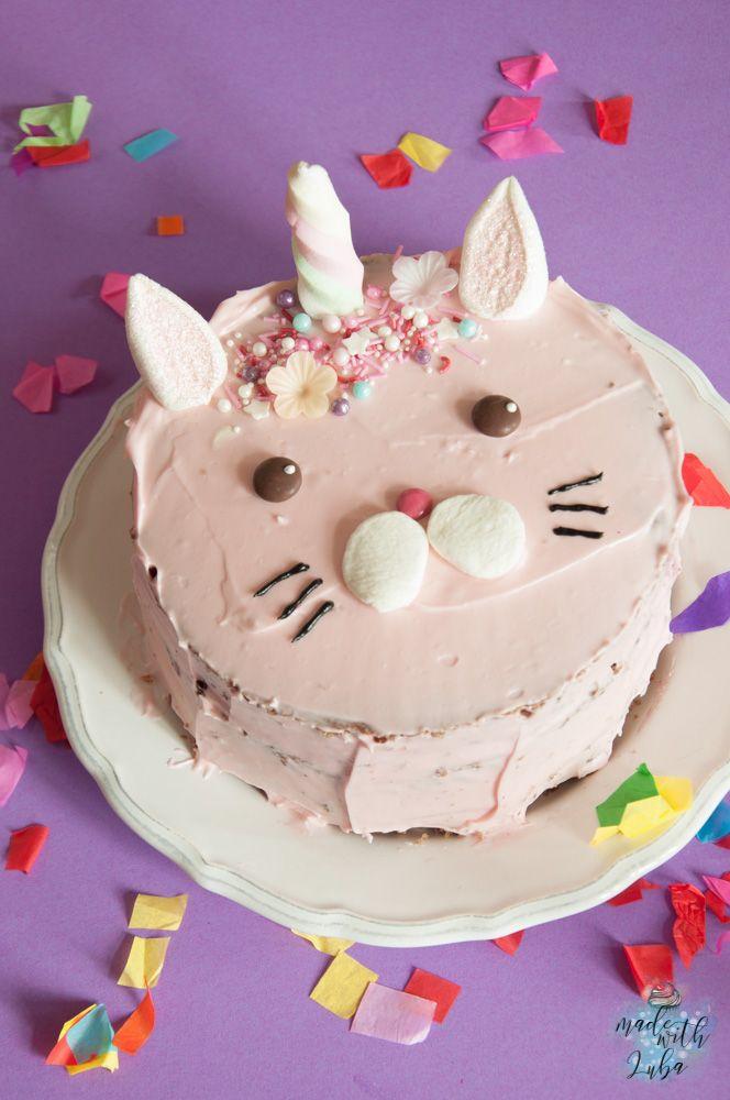 Caticorn Cake – Die magische Katze erobert alle Herzen   – Birthday