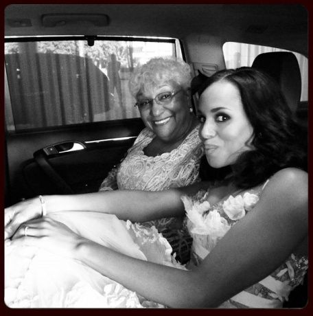 Kerry and her Mom @ the Emmy's