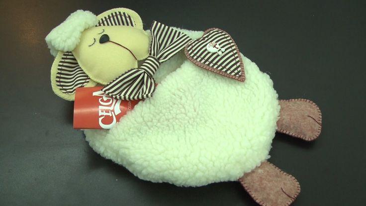 Cibélia Alves ensina a fazer uma ovelha porta recados em Feltro - Passo ...