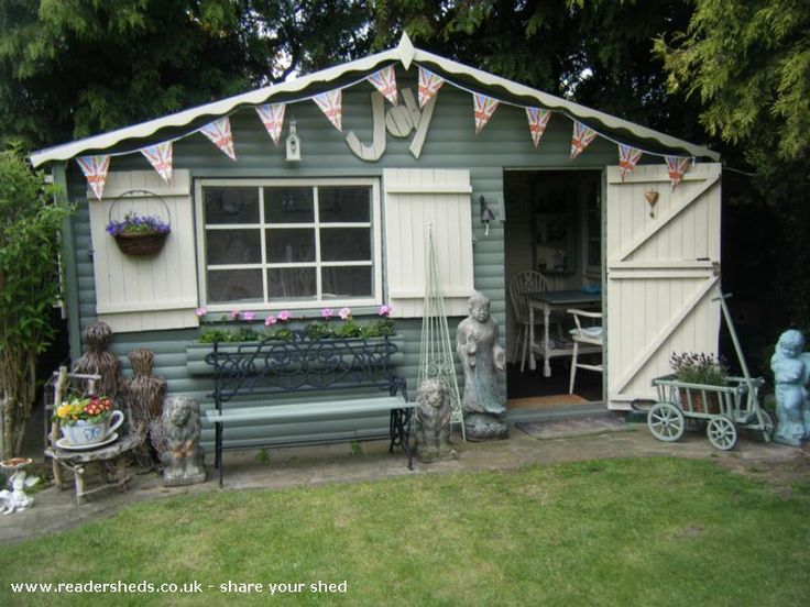 joys summer house is an entrant for shed of the year 2013 via unclewilco