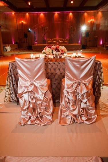 chair covers for head table Wedding chairs