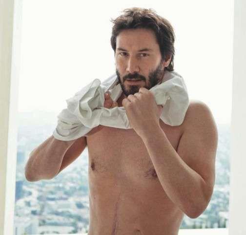 Keanu Reeves is 'Irresistible' in Vogue Hommes #Pop Culture trendhunter.com