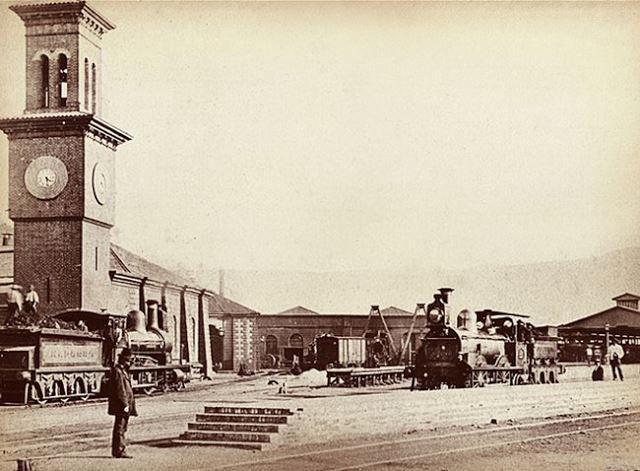 Reloj Barón, Valparaiso 1860