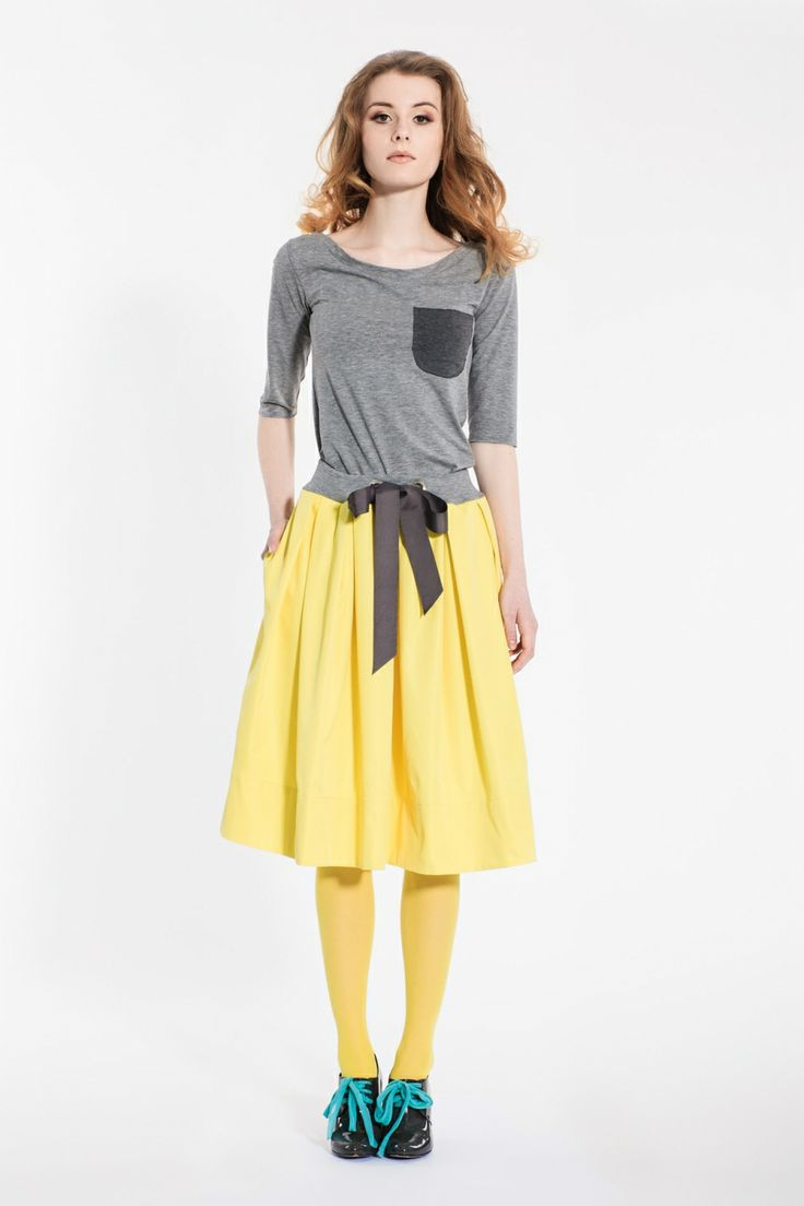 CITRIN skirt by Magda Hasiak