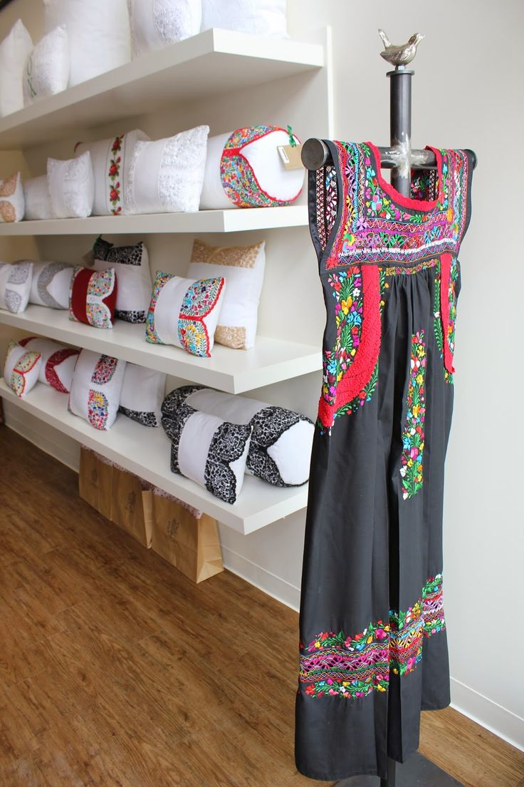 Mi Golondrina, Dallas based designer using heritage Mexican embroidery