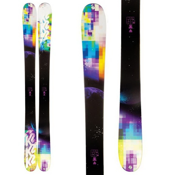 K2 MissBehaved Skis Women's New 2012    Just purchased these for the season :)