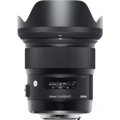 The new Sigma Art 24mm F/1.4. Super fast and sharp lens for full frame landscape photography.