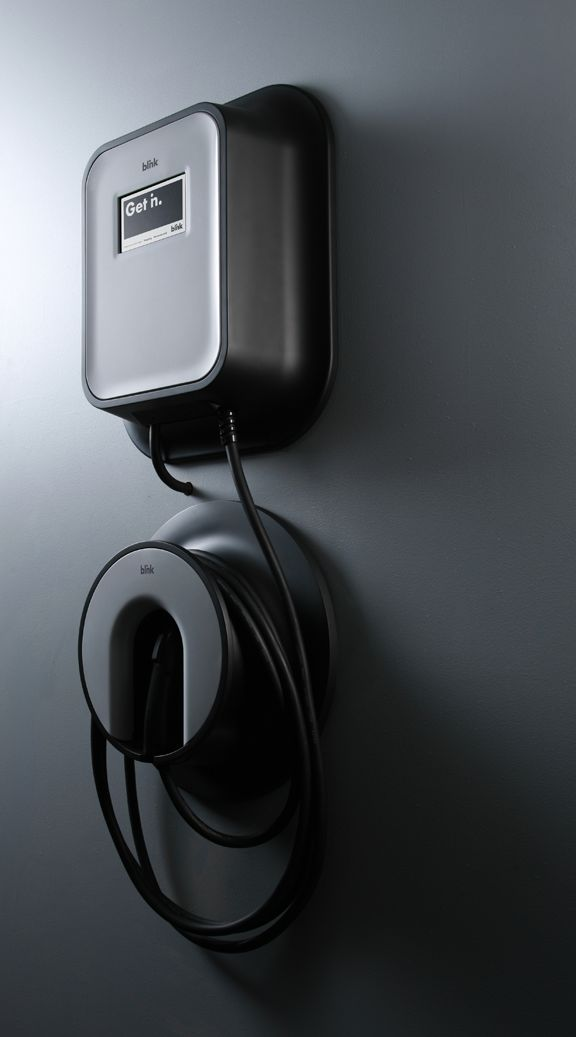 Blink EV Chargers on Industrial Design Served
