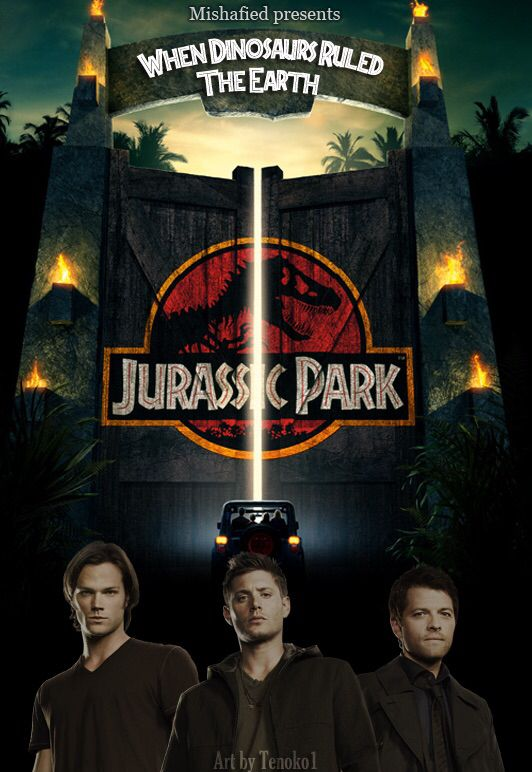 Someone wrote a Jurassic Park/Supernatural AU and it is literally perfection. Check it out on AO3.