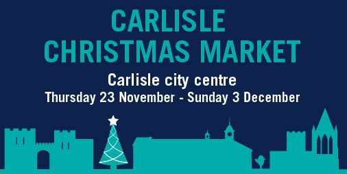 Carlisle Christmas Market http://www.cumbriacrack.com/wp-content/uploads/2017/11/twitter-Christmas-market-01-4.jpg An eleven-day Christmas Market will be held in Carlisle between Thursday 23 November and Sunday 3 December.    http://www.cumbriacrack.com/2017/11/16/carlisle-christmas-market/
