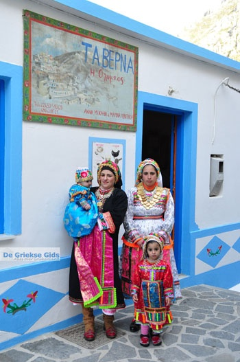 Olympos Karpathos - Traditionele klederdrachten