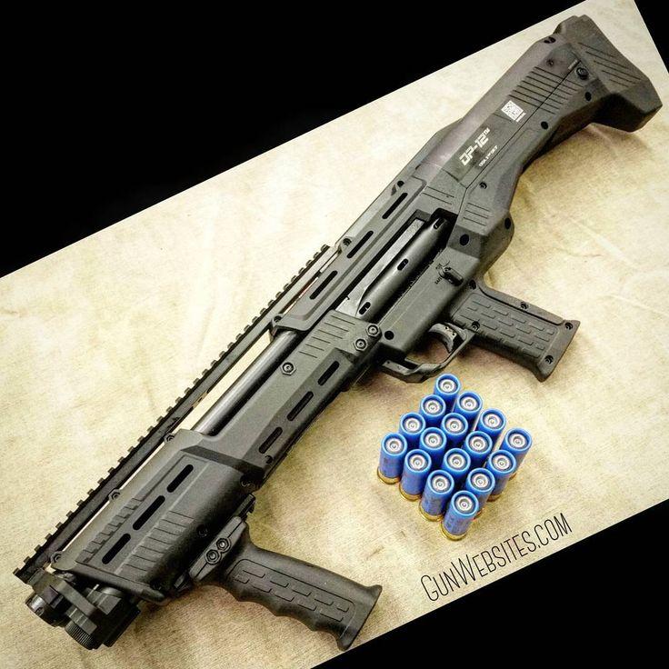 """""""DP-12 Double barrel pump shotgun 14-shot +2 12-gauge"""