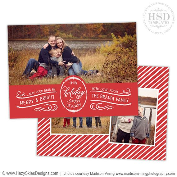 Best Holiday Templates For Photographers Images On
