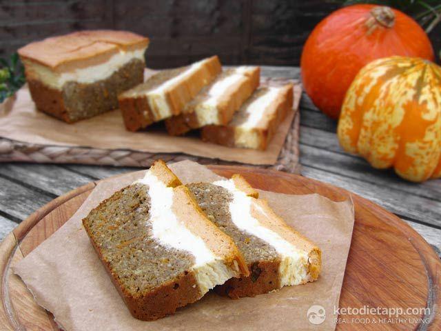 Pumpkin & Orange Cheese Bread