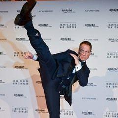 Celebrities attend the Amazon TV series 'Jean Claude Van Johnson' Premiere