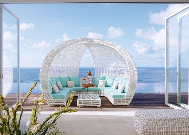 Skyline Design уличная мебель из искусственного ротанга » SPARTAN беседка #skld #outdoorfurniture #уличнаямебель #дизайнинтерьера