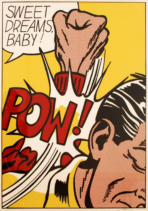Roy Lichtenstein — It's not about the comics. I think he compelled us to see details differently...be less likely to take them for granted.