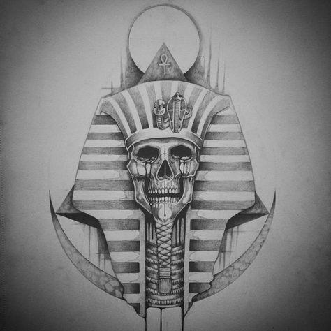 Faraó  Tatuagem  Tattoo  Desenho