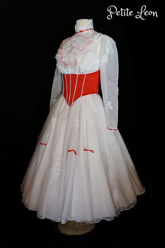 Jolly Holiday Mary Poppins Costume Adult Size Custom by Petiteleon, $1150.00 This is gorgeous!