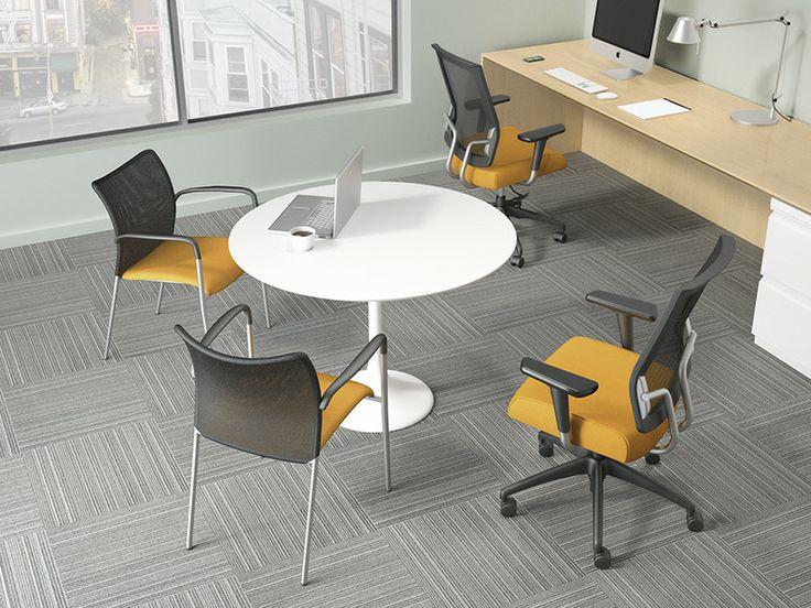 Social mesh back chair