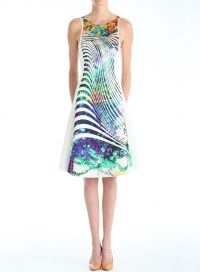 Clover Canyon Ribbon Landscape Dress