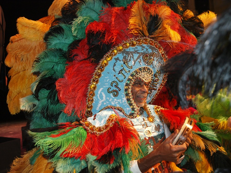 Bury the Hatchet: Three Mardi Gras Indians in New Orleans offer a window onto a vibrant segment of the city's African American community.