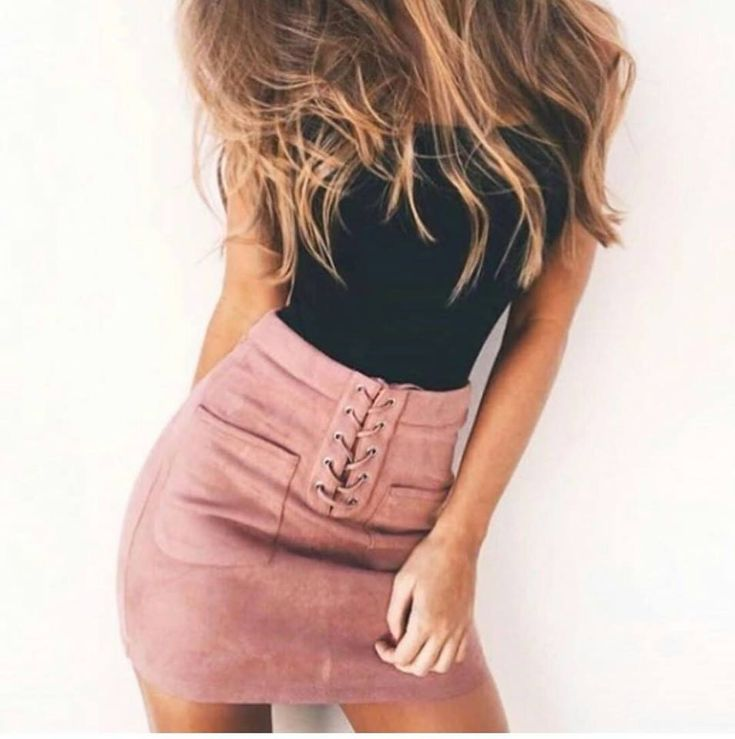 💗 In love with this pink skirt 💗