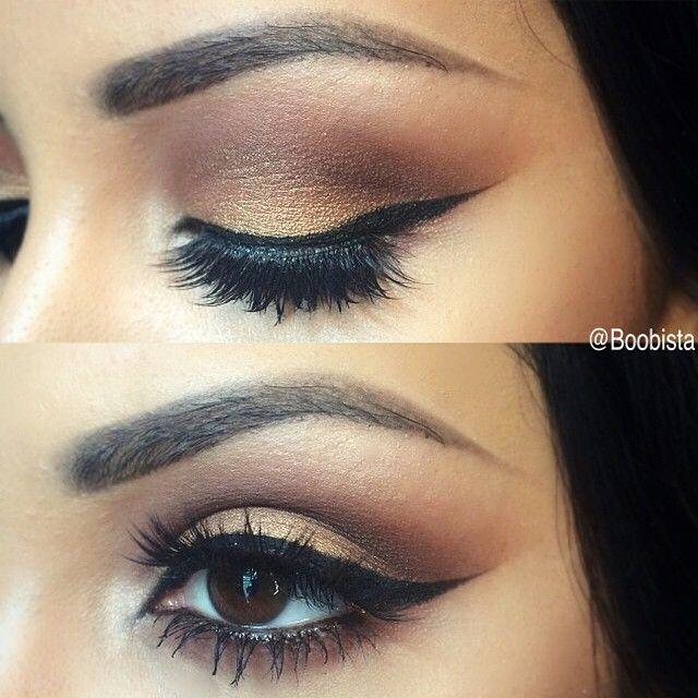 elongated winged eyeliner