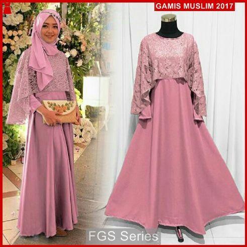 Jual Baju Gamis Murah Model FGS55 Gamis Olivia Model Gamis Naura Online  Shop ba6066ef41