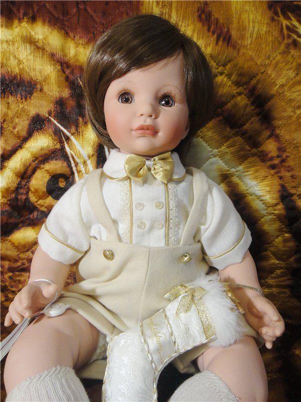 """""""Joey"""" чудесный новогодний мальчик от Susan Wakeen / Коллекционные куклы (винил) / Шопик. Продать купить куклу / Бэйбики. Куклы фото. Одежда для кукол"""
