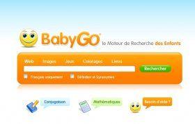 Un moteur de recherche sécurisé et adapté aux enfants.