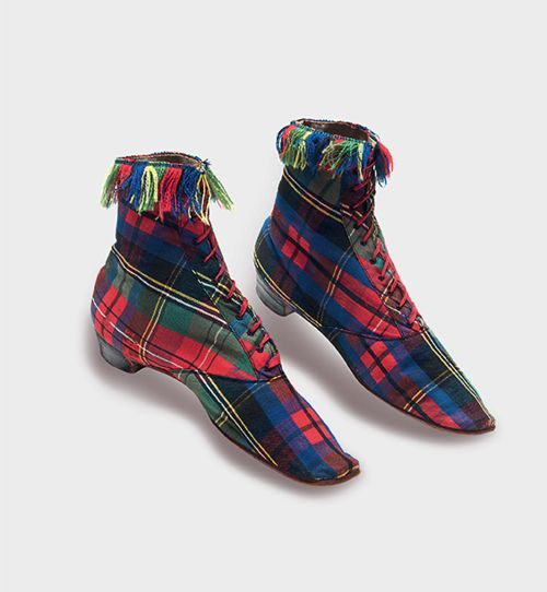 I NEED THESE SO BADLY!!!!  Boots c.1860  From Cora Ginsburg LLC
