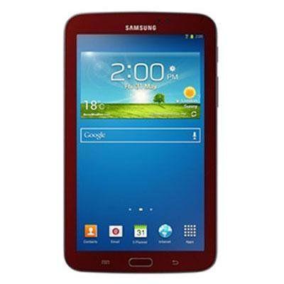 "Samsung Galaxy Tab 3 Sm-t210r 8 Gb Tablet - 7 - Plane To Line [pls] Switching - Wireless Lan - Marvell Armada Pxa986 1.20 Ghz - Garnet Red - 1 Gb Ram - Android 4.1.2 Jelly Bean -. 7"" GalaxyTab 3 8GB Red."