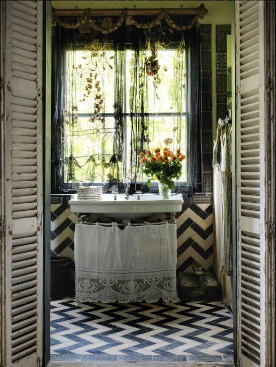 294 Best Bohemian Bathroom Images On Pinterest | Bath, Bohemian Bathroom  And Antique Bathroom Decor