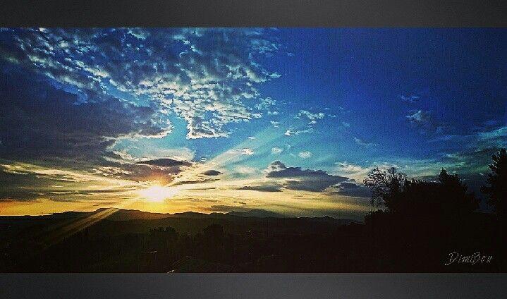 Sunset stamna