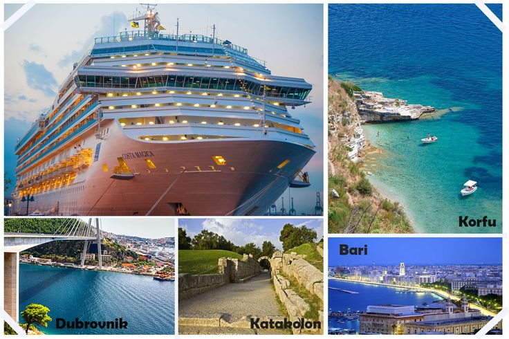 Bari, Katakolon, Pire, Santorini, Korfu, Dubrovnik ve Venedik... Bavul Toplamadan, Şehir Şehir, Liman Liman Geziyoruz.  Gemi Turlarının Farkını Yaşayın.  http://outgoing.turaturizm.com/index/detay/83/1180/15965/10/14/costa-magica-ile-ege-adriyatik-venedik/
